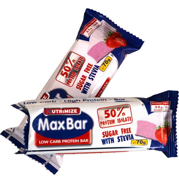 MaxBar with Stevia